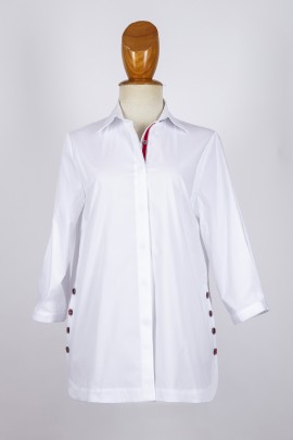 Camisa botones lateral