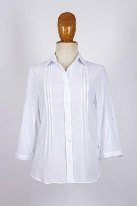 Camisa lorzas
