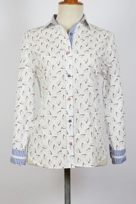 Blusa camisera coordinado rayas